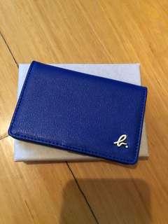 Agnes b 藍色卡片套
