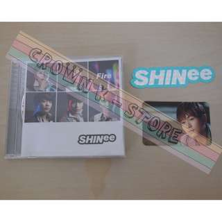 [UNSEALED][CRAZY DEAL 50% OFF FR ORI PRICE][READY STOCK]SHINEE JAPAN SINGLE+ONEW PHOTO CARD 1PC+STICKER 1PC (UNSEALED) ORIGINAL FR JAPAN (PRICE NOT INCLUDE POSTAGE)PLEASE READ DETAILS FOR MORE INFO; POSLAJU:PENINSULAR AREA :RM10/SABAH SARAWAK AREA: RM15