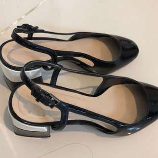 Zara flat heels