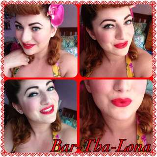 💄💎 AUTHENTIC Australis Velourlips Matte Lip Cream in Bar-Tha-Lona Barthalona
