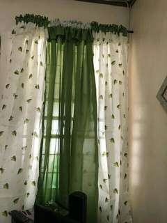 3 in 1 Geena Silk Window Curtain Home decor