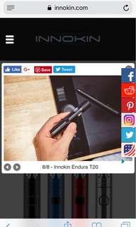 E-Cigarette Innokin Endura T20