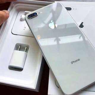 Iphone 8 plus 64Gb Silver kredit bisa lohh