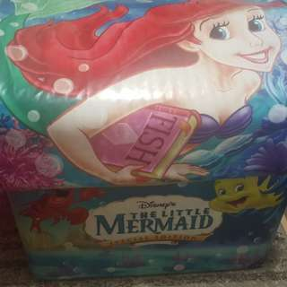 Original Disney The little mermaid toy chest trunk storage container
