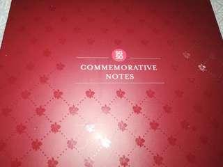 SG50 Commemorative Notes box