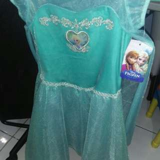 Original Frozen Gown 4-8 yrs old