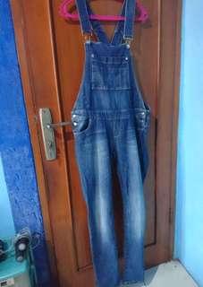 Stradivarius - Jumpsuit Jeans