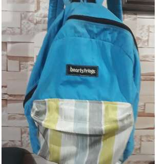 Heartstrings Bagpack Blue