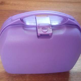 Violet Accessory Luggage with Mirror