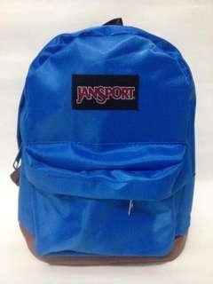 Tas ransel jansport mini biru polos/tas anak/tas wanita