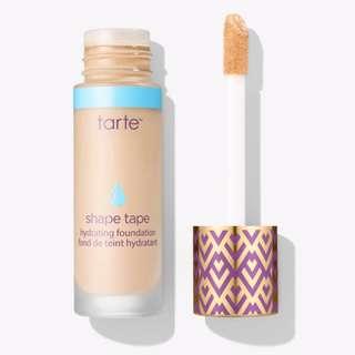 Brand New Tart Shape Tape Hydrating Foundation | Light-Medium Honey