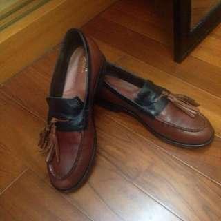 🚚 男女都可 Eu41 G.H Bass 流蘇樂福鞋(流蘇可拆)