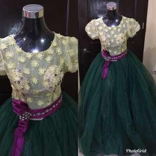 Long ball gown