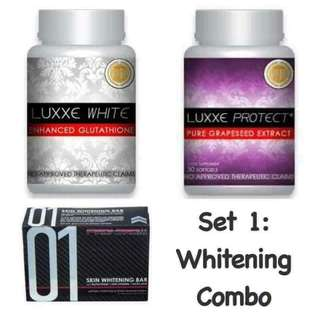 Luxxewhite (whitening combo)