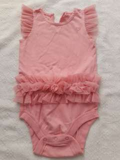 Baby Gap onesie Peach
