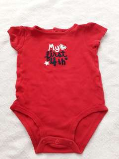 Carter's Red Onesie