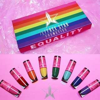 Jeffree star MINI Velour Liquid Lipstick Bundle Box Equality
