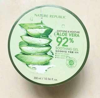 PRELOVED NATURE REPUBLIC ALOEVERA 92%