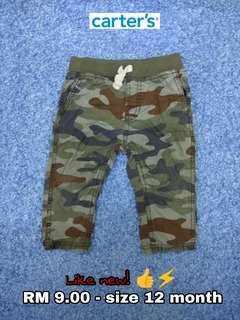 12 month - Pants Kids Cloth Shirt Dress Baby Girl Boy