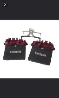 Taiwan Baradine Ice-tech Fin Resin Brake pads for Shimano hydraulic brake