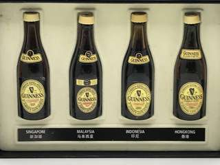 Guinness Collectibles miniature bottle set
