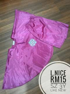 Baju Kurung batwings sz3y