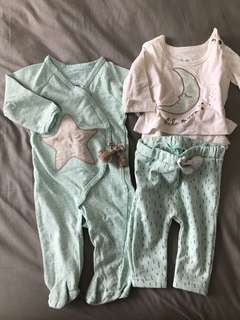 Moon & Stars Pajama set