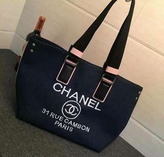 Chanel Canvass Bag