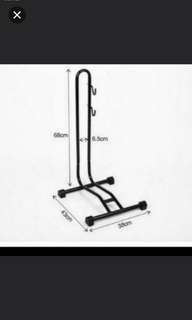 Brand new!  BICYCLE parking L stand with HOOKS