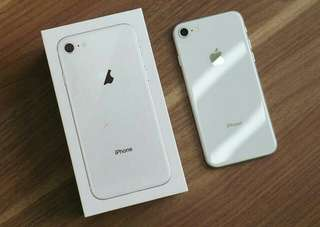 Iphone 8 256Gb Silver kredit proses 3 menit