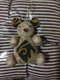 Boneka beruang akar wangi