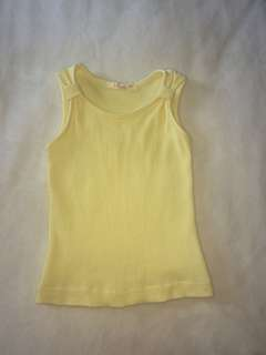 Kids yellow top