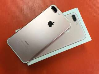 Iphone 7 Plus 128Gb Rose gold kredit/cash bisa