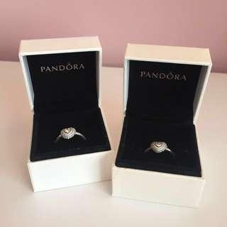Silver Pandora Rings