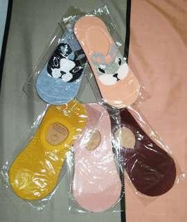 Candy Color Socks + Animal Print Socks