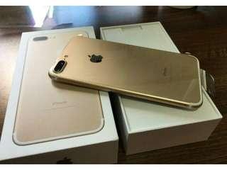 Iphone 7 Plus 128Gb Gold kredit cepat 3 menit