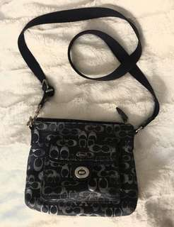 Coach Navy Crossbody Bag