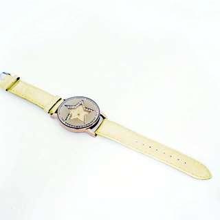 鑽石星形手錶 玫瑰金 鑽石表面設計 手錶 星星形狀