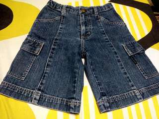 Offer!! New Comme Ca Ism Denim Short 3-4y