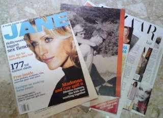 Madonna Jane Magazine Clippings