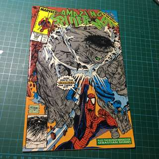 Marvel Comics Amazing Spider-Man #328 VF+/VF Todd McFarlane HOT!!! Hulk Appearance