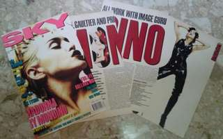 Madonna Sky Magazine Clipping