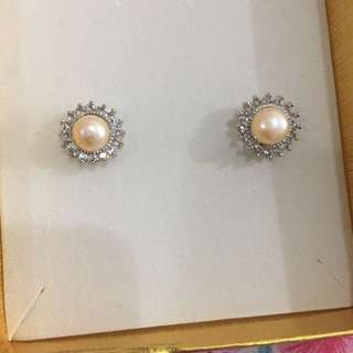 Earrings pearl from palawan