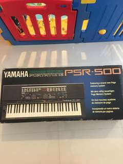 Yamaha psr-500 electronic keyboard