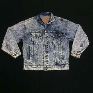 ACID WASH LEVI'S JACKET