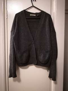 Country road wool cardigan