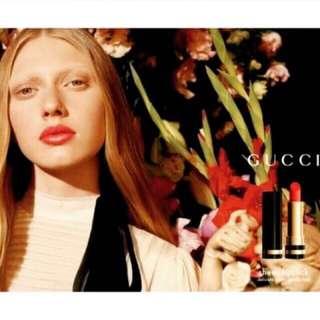 🚚 Gucci 滋潤型 粗管唇膏 正品 機場購入