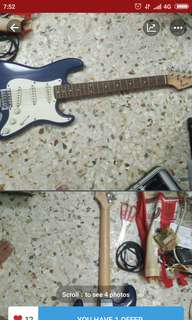 Squire by fender Stratocaster