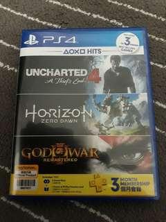 Unchartered 4/Horizon Zero Dawn PS4