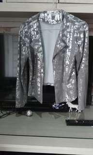Cardigan silver cantik muraah